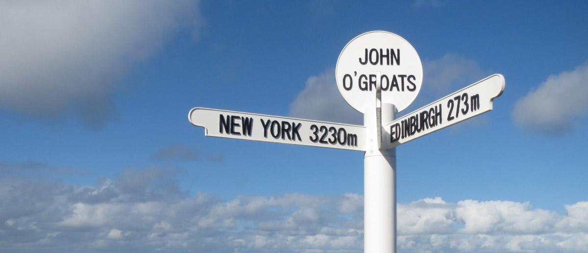 John Ogroats Signpost Landscape